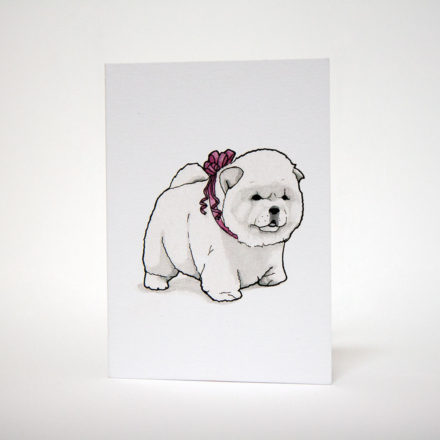 Chow Chow Greetings Card - Things by us