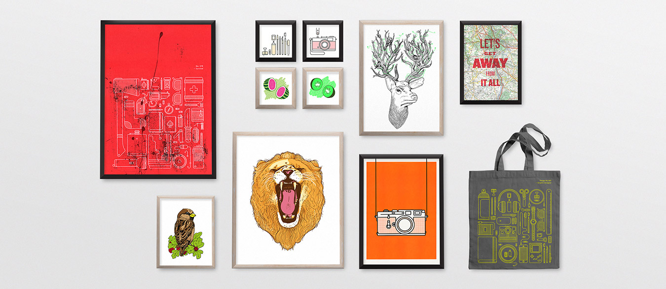 Prints by Things by us
