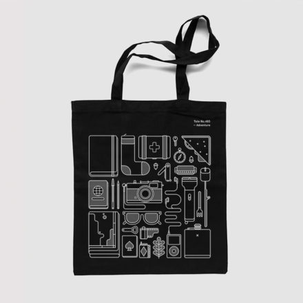 Object Illustration - Tote - Adventure - Things by Us