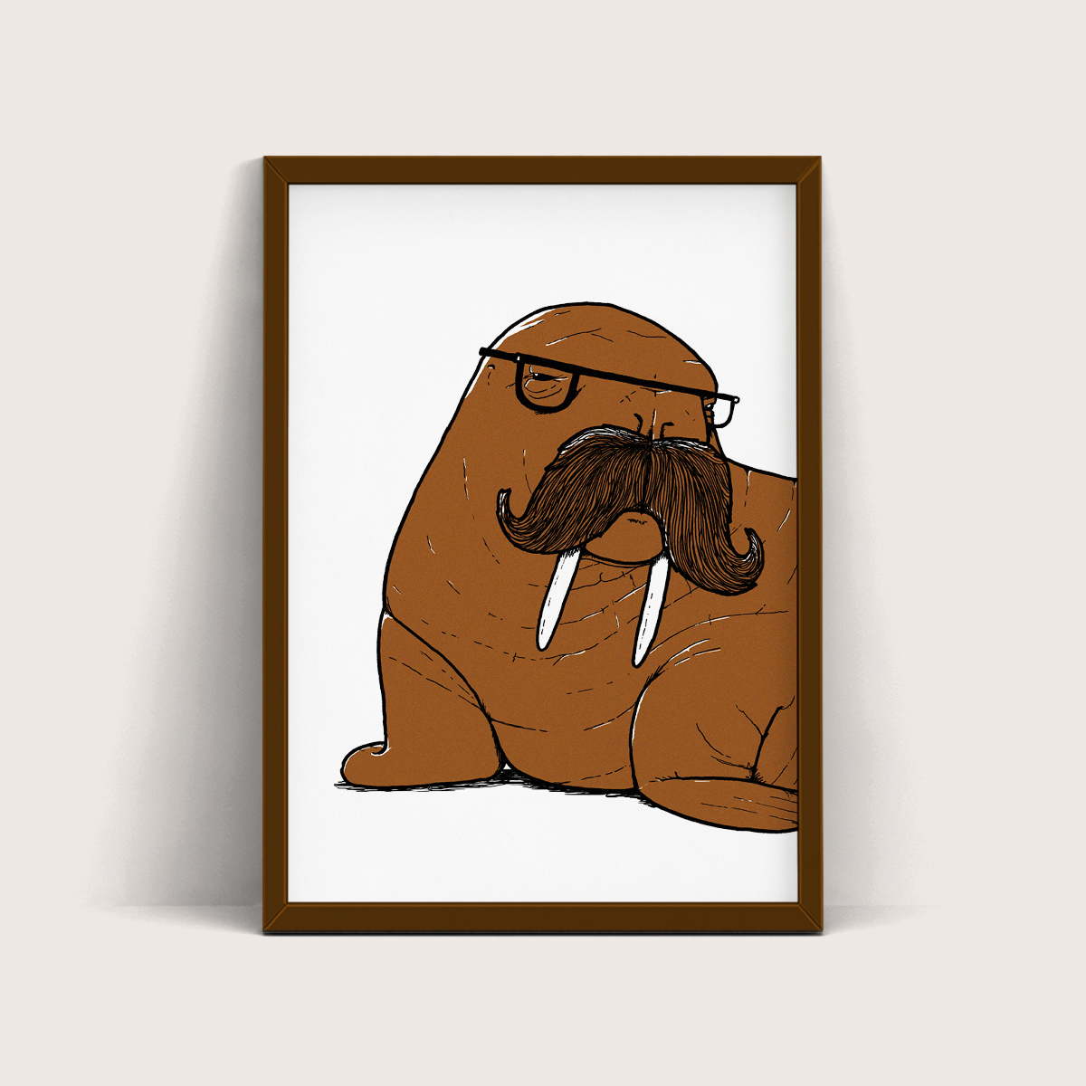 Walrus - Screen Print - Things by us