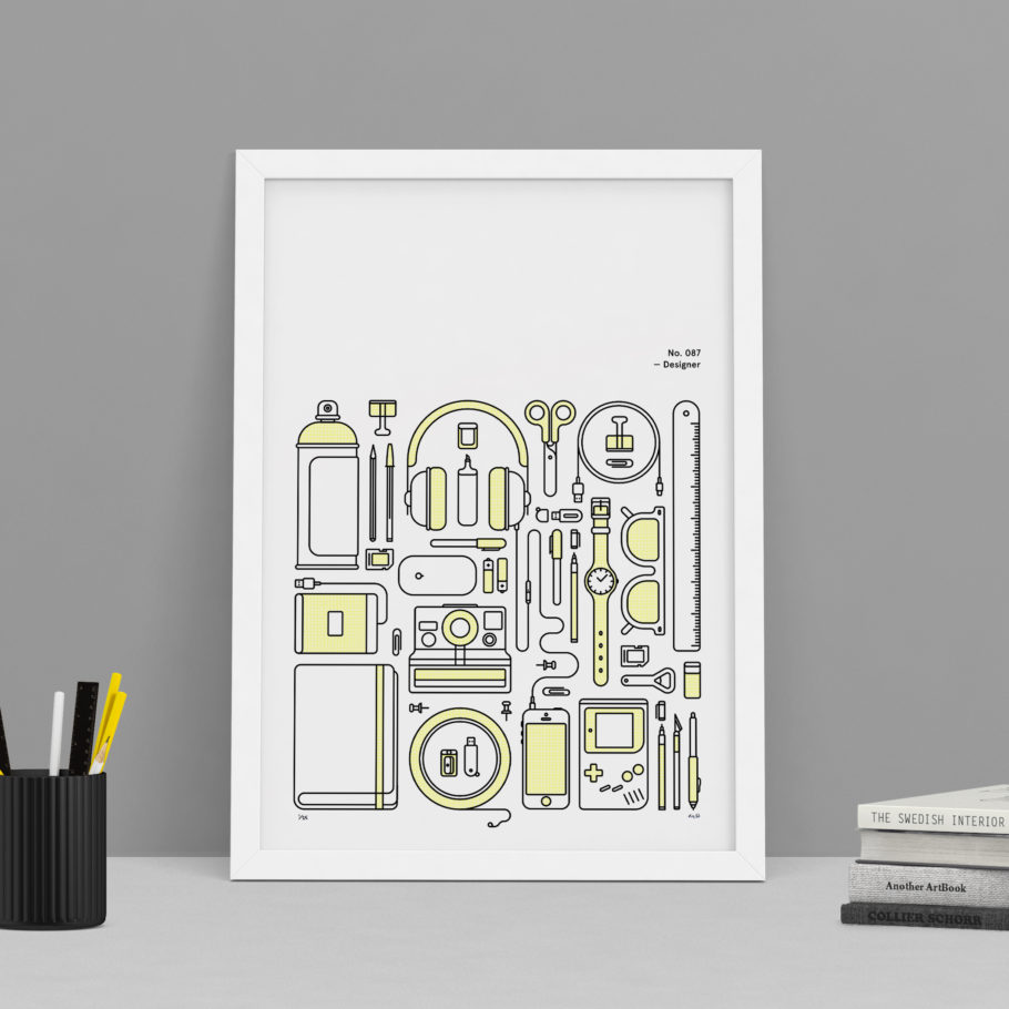 Designer - Object Illustration by Mark Adamson