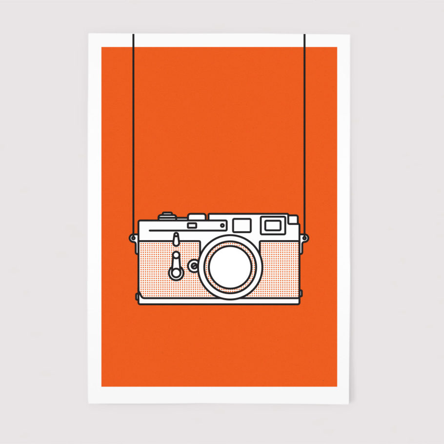Leica M3 Print by Things by us