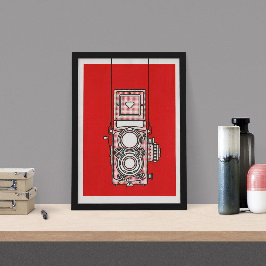 Rolleiflex Risograph Print - Things by us