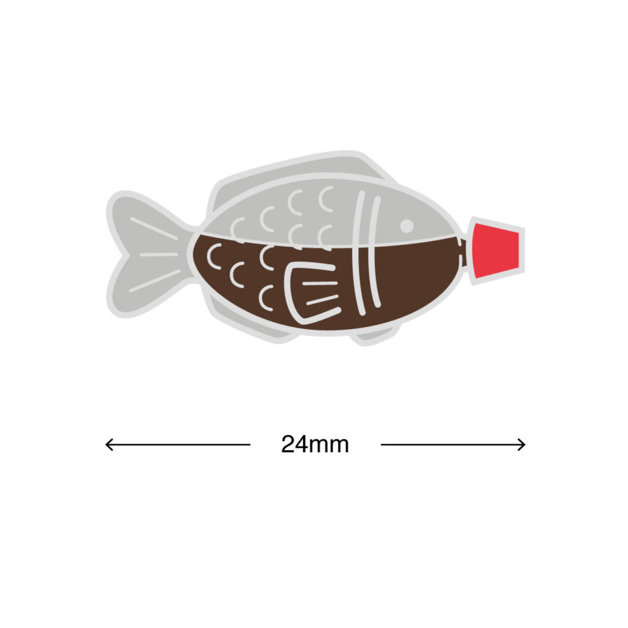 Soy Fish Enamel Pin by Things By Us