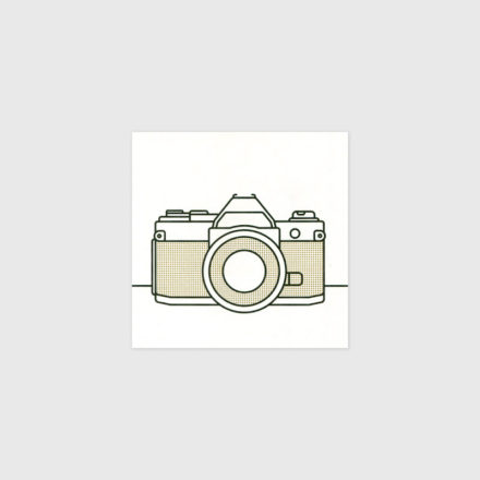 Canon camera print by Things by us