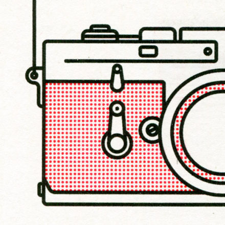 Close up of Leica M3 Print by Things by ua