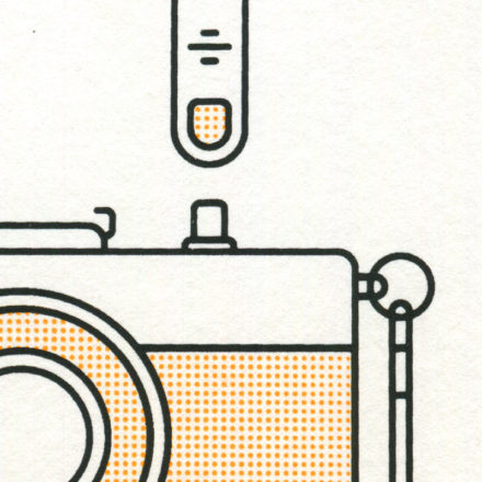Olympus Trip print close-up by Mark Adamson