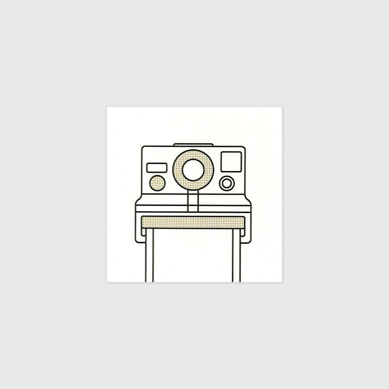 Polaroid camera print by Mark Adamson