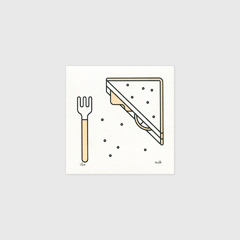 Sandwich print by Mark Adamson