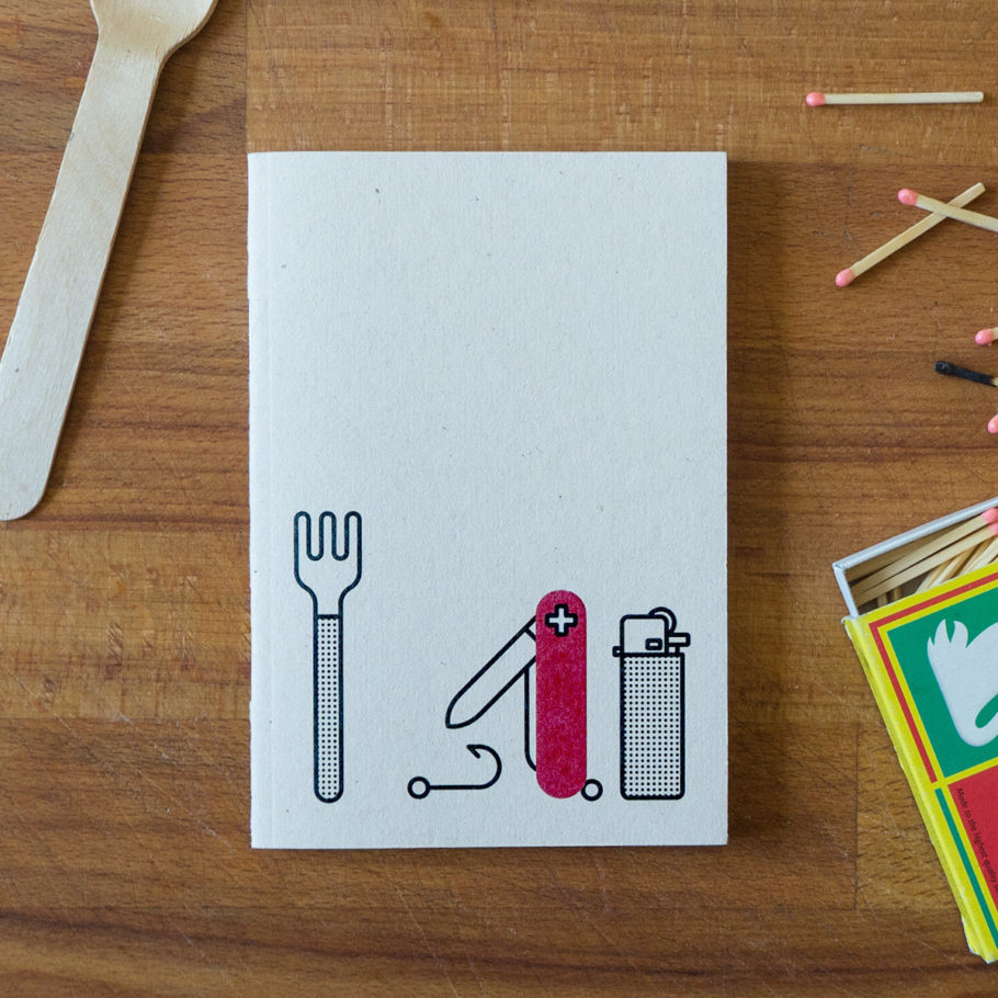 Survival Notebook by Things by us