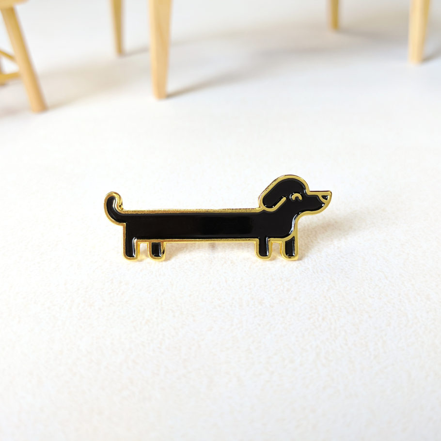 Sausage Dog Pin by Things by us