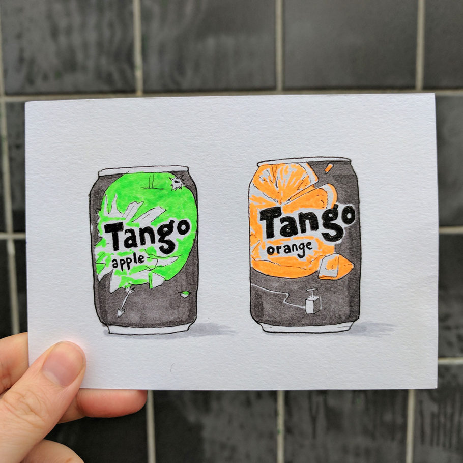 Postcard to Toucan Tango from Liverpool by Things by us