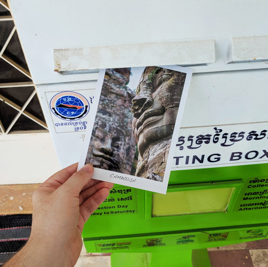 Postcard from Cambodia by Things by us