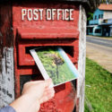 Handmade postcard from Sri Lanka by Things by us