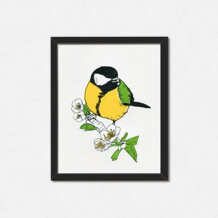 Great Tit Art print by Things by us