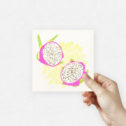 Dragon fruit art print