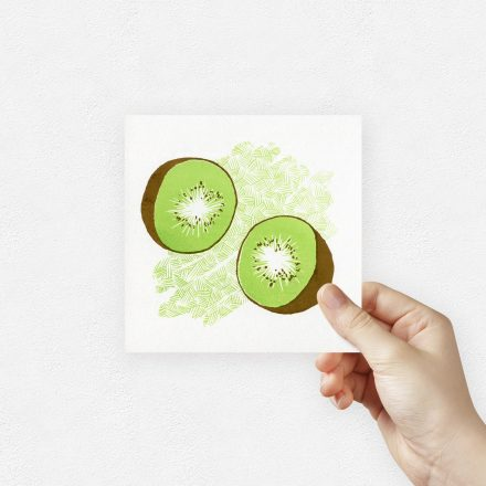 Kiwi art print by things by us