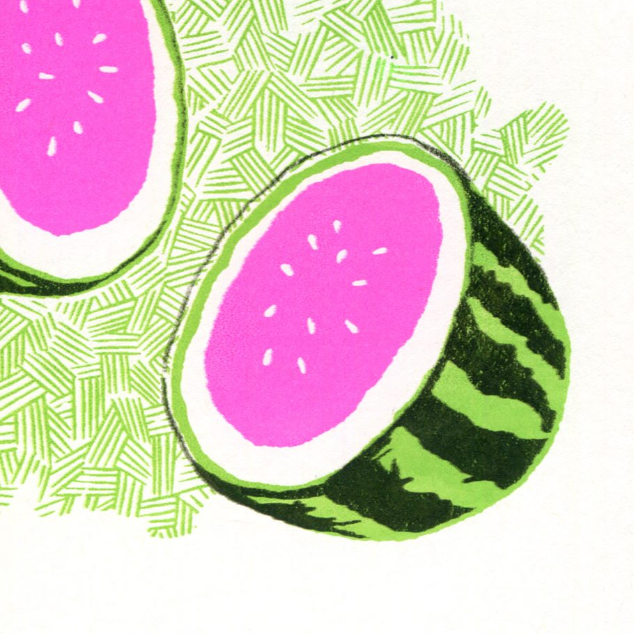 Melon art print by things by us